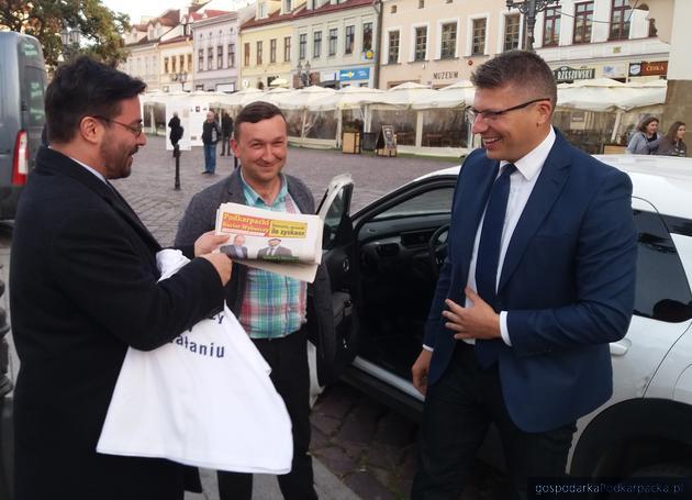 Warchoł – Tyszka: spotkanie kandydatów