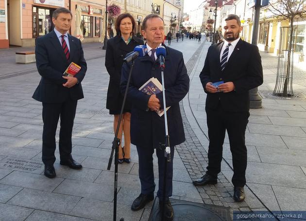 PiS podsumowuje kampanię wyborczą na Podkarpaciu