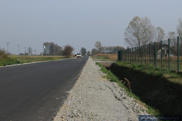Droga Duńkowice - Laszki - Lubaczów już gotowa