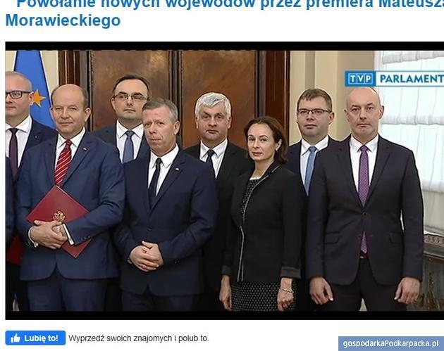 Klatka z transmisji TVP Parlament