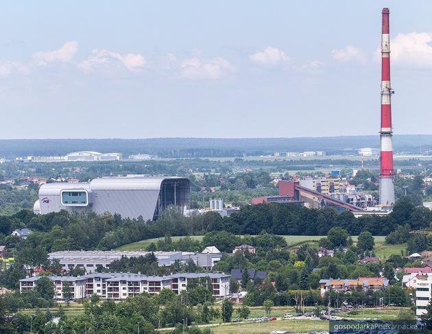 Instalacja Termicznego Przetrwarzania Odpadów z Odzyskiem Energii w Rzeszowie. Fot. PGE EC