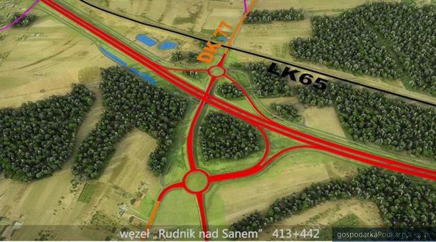 Zgoda na budowę S19 na północ od Rzeszowa. Odcinek Rudnik nad Sanem – Nisko Południe