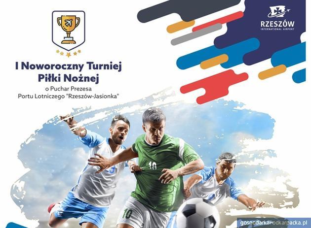 Turniej Piłki Nożnej o Puchar Prezesa Portu Lotniczego dziś w hali na Miłocinie