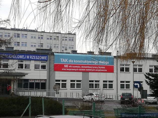 Oświadczenie dyrekcji szpitala w związku z manifestacją pielęgniarek