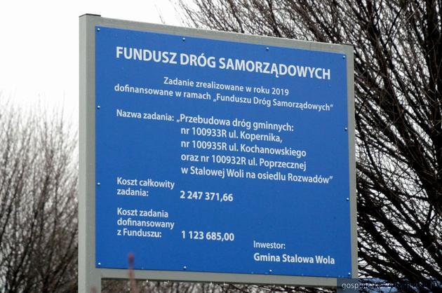 Rozwadów-Stalowa Wola. Zakończyły się remonty kolejnych ulic wokół Rynku