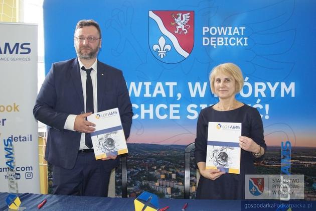 Lot AMS pomoże kształcić spedytorów i logistyków w Dębicy