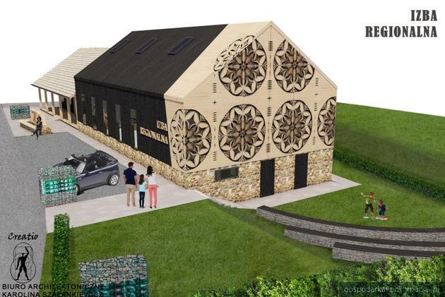 Jak będzie wyglądać Centrum Dziedzictwa Ziemi Sanockiej w Strachocinie?