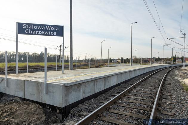 Nowy przystanek kolejowy Stalowa Wola - Charzewice już gotowy