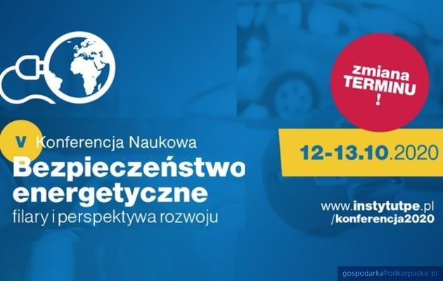 """Konferencja """"Bezpieczeństwo energetyczne – filary i perspektywa rozwoju"""" - nowy termin"""