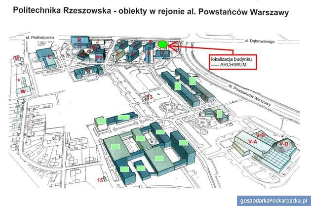 Politechnika Rzeszowska zbuduje nowe uczelniane archiwum