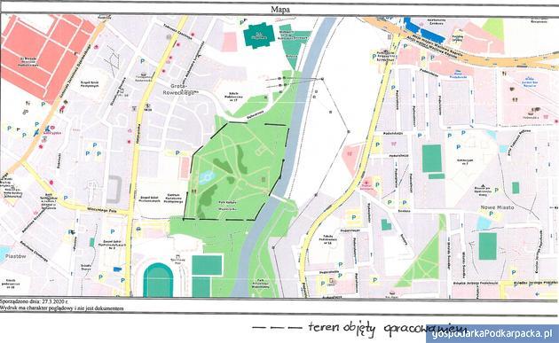 Fot. mapka dokumentacja konkursowa