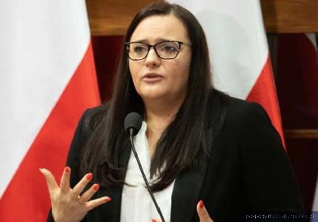 Minister funduszy i polityki regionalnej Małgorzata Jarosińska-Jedynak. Fot. Michał Mielniczuk