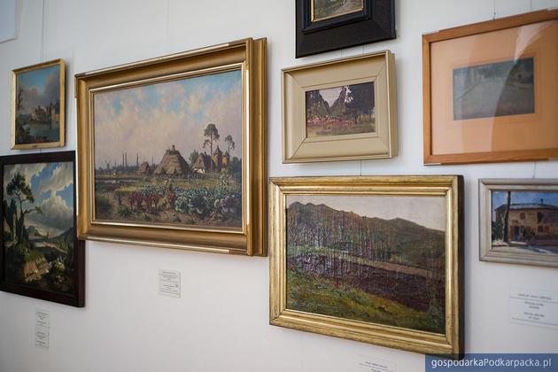 Galeria malarstwa polskiego. Fot. Muzem Okręgowe w Rzeszowie