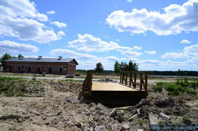 Za pół roku zbiornik w Podwolinie k.Niska będzie nie do poznania