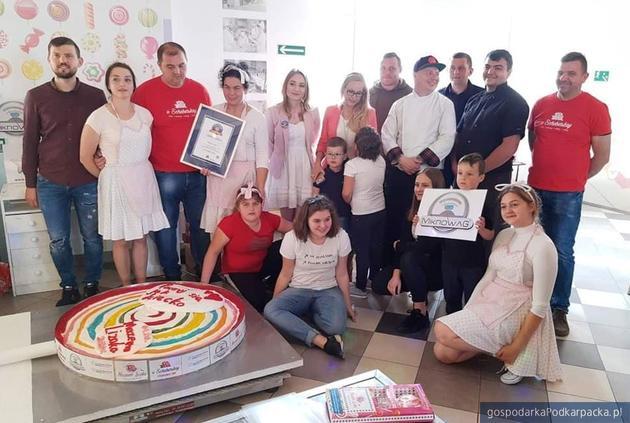 W Jaśle pobito rekord Polski w wadze pojedynczego lizaka