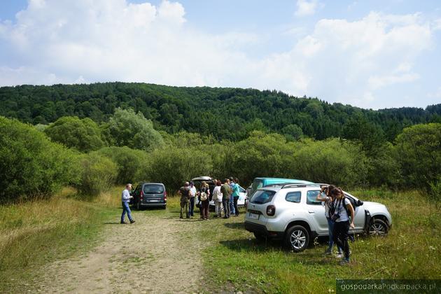 Miejsce, w którym ma powstać zbiornik Kąty-Myscowa. Fot. rzeszow.wody.gov.pl