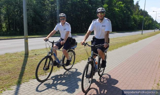 Mieleccy policjanci też uruchamiają rowerowe patrole