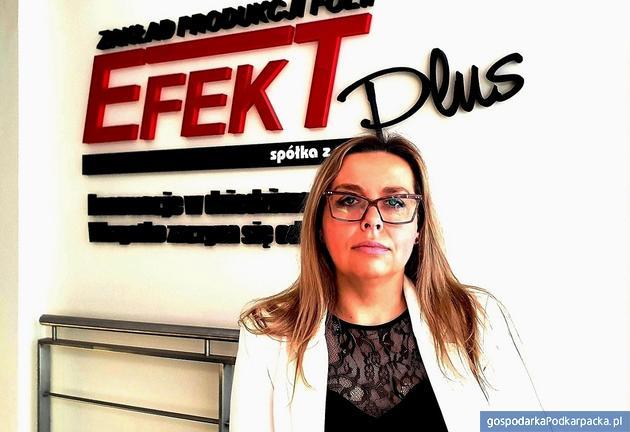 Anna Radoń-Cholewa,  dyrektor Efekt Plus