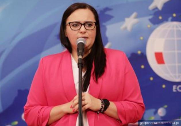Małgorzata Jarosińska-Jedynak, minister funduszy i polityki regionalnej podczas Forum w Karpaczu. Fot. MFiPR