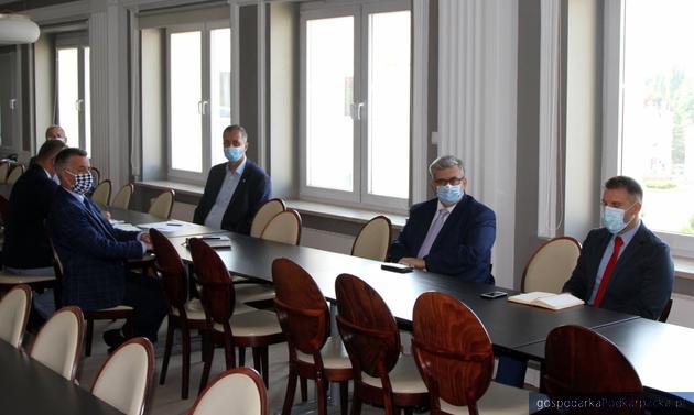 Uczestnicy spotkania. Fot. PUW