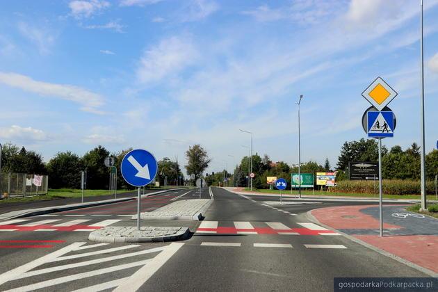 Ulica Wojska Polskiego w Mielcu już po przebudowie