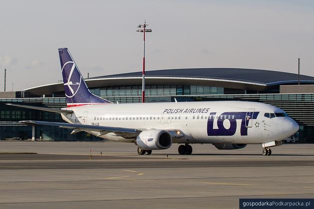 Samolot z Kazachstanu wyląduje w Jasionce