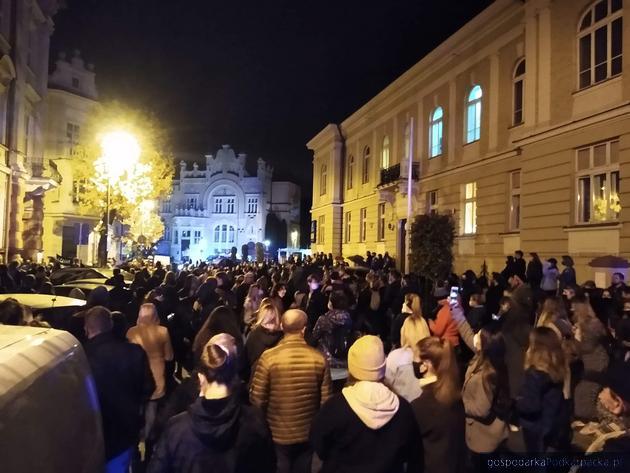 Czarny protest w Rzeszowie – 23 października 2020