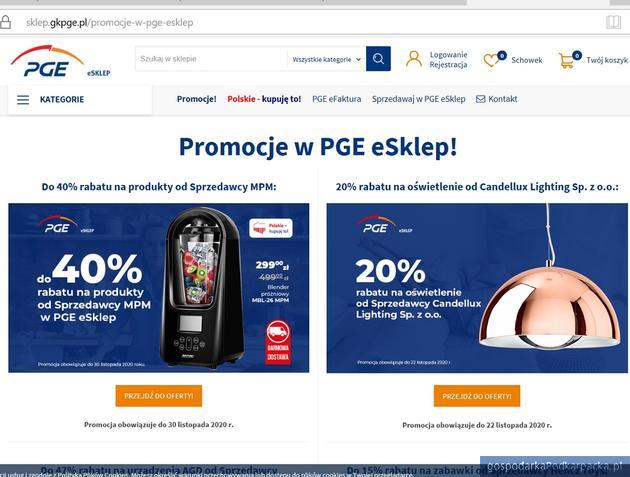 PGE eSklep rozwija ofertę polskich produktów
