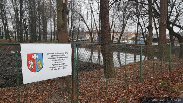 Rewitalizacja stawu wWysokiej Głogowskiej