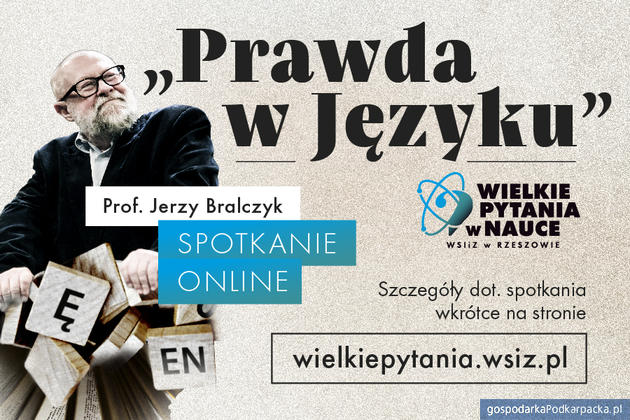 """Profesor Jerzy Bralczyk wygłosi wykład pt.""""Prawda wjęzyku"""" z okazji 25-lecia WSIiZ"""