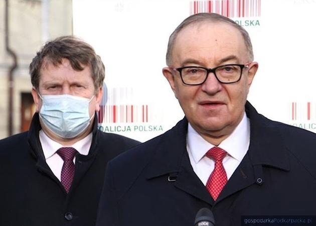 Zbigniew Micał i Mieczysław Kasprzak