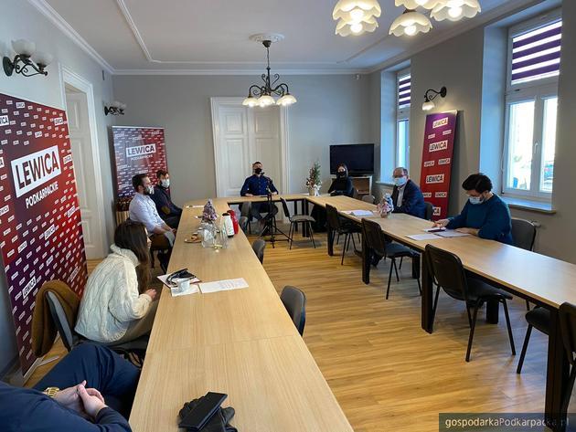 Spotkanie w biurze posła Wiesława Buża