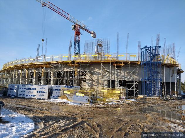 Trwa budowa Podkarpackiego Centrum Nauki