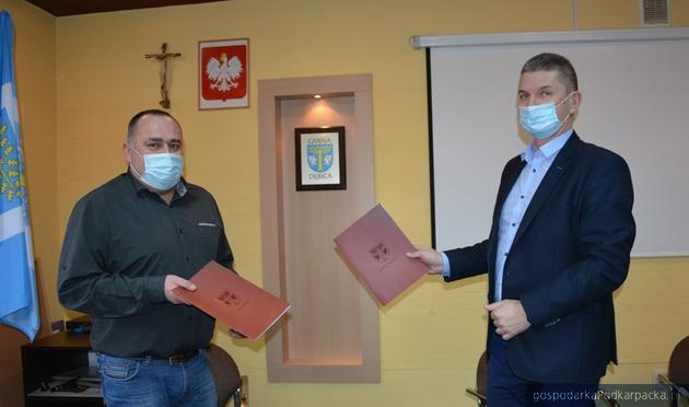 Podpisanie umowy. Fot. ugdebica.pl
