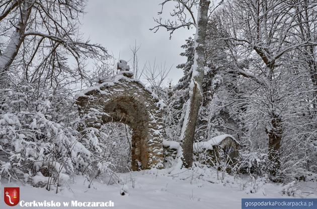 Cerkwisko w Moczarach. Fot. horyniec-zdroj.pl