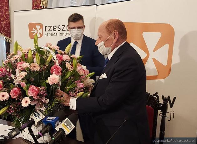 Od lewej Marcin Warchoł i Tadeusz Ferenc. Fot. UM Rzeszowa
