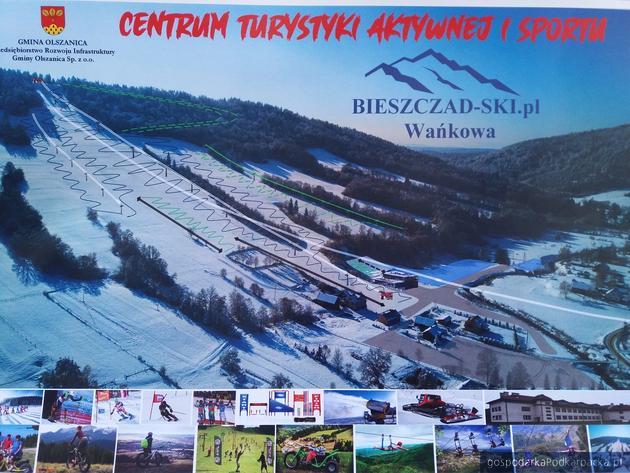 Będą kolejne pieniądze dla Bieszczad – Ski – centrum sportu i rekreacji w Wańkowej (gmina Olszanica)