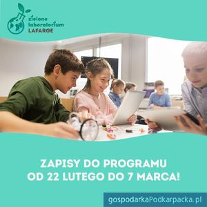 Zielone Laboratorium Lafarge – zapisy na ogólnopolski program ekologiczny dla szkół