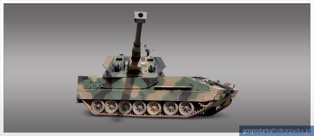 Krab 155 mm samobieżna haubica. Fot. HSW