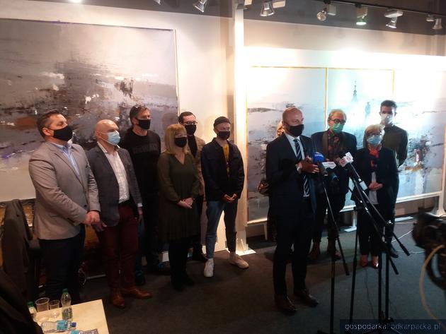 Rzeszowski zamek nie nadaje się na placówkę kultury – konferencja Konrada Fijołka