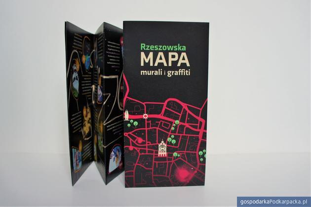Rzeszowska mapa murali i graffiti