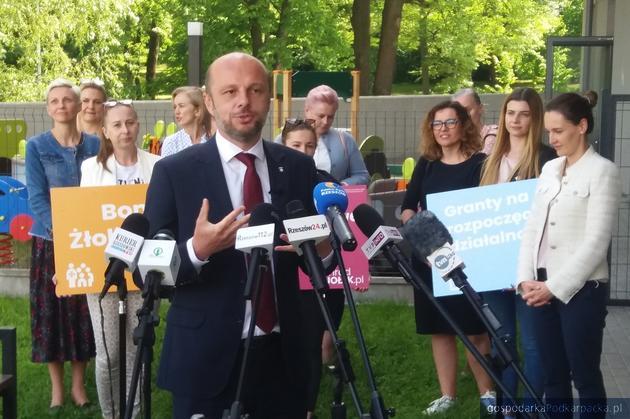 Konrad Fijołek zapowiada rozwój żłóbków i przedszkoli w Rzeszowie