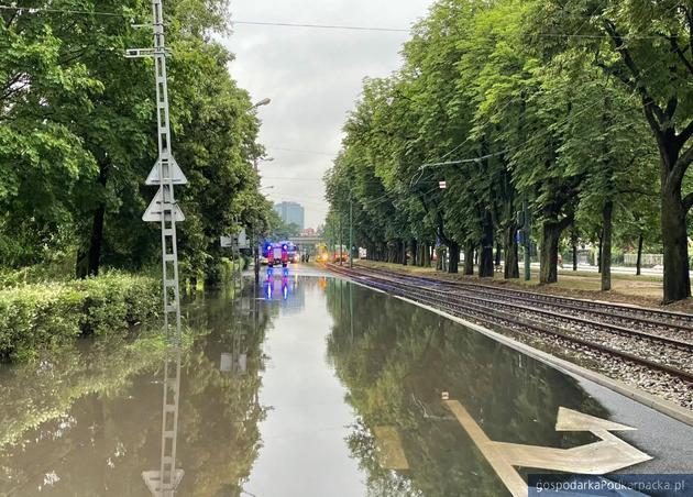 Podtopienia w Poznaniu. Fot. poznan.pl