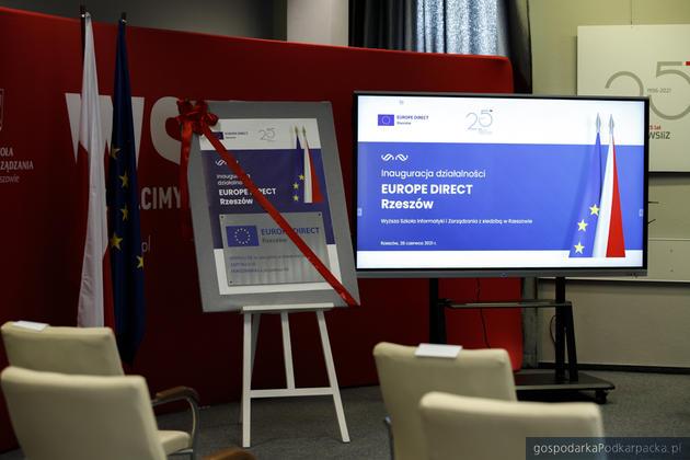 Punkt Europe Direct Rzeszów weWSIiZ oficjalnie rozpoczął kolejną kadencję