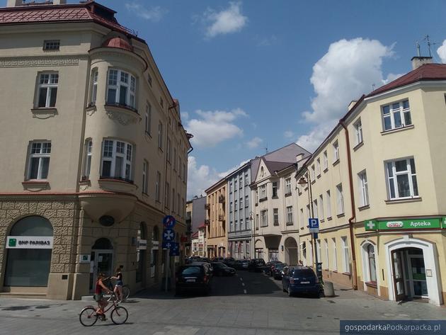 Widok na ulicę Jagiellońską w Rzeszowie. Fot. Adam Cyło