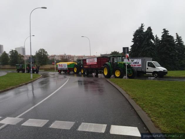 Strajk rolników w Rzeszowie (24 sierpnia 2021 r.). Zobacz zdjęcia