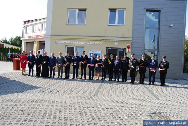 Centrum Bezpieczeństwa, Kultury i Integracji Społecznej w Czudcu oficjalnie otwarte