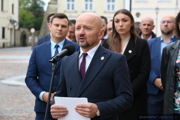 Senator Jacek Bury, Fot. Adam Barwiński