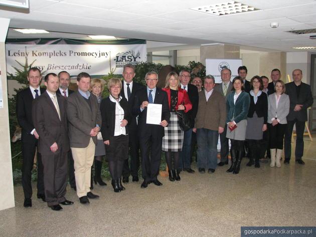 Przedstawiciele Forum Klastrów Podkarpacia. Fot. Adam Cylo