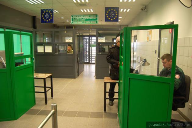 Nowe stanowiska kontrolne w Medyce. Fot. Bieszczadzki Oddział Straży Granicznej